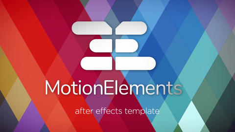Color Scheme Logo After Effects Template