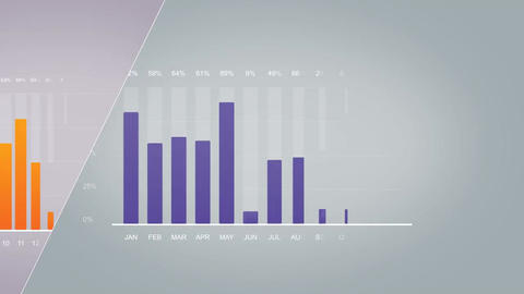 Simple infographics After Effects Template