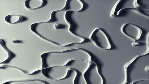 Abstract Lines Background - White Ice top view Animation