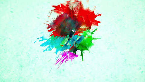 Colorful Paint Logo Reveal After Effects Template