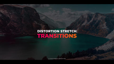 Distortion Stretch Transitions Premiere Pro Template