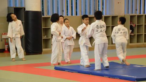 Judoka Training At The Osaka Budo Center Japan 2016 5 4 Footage