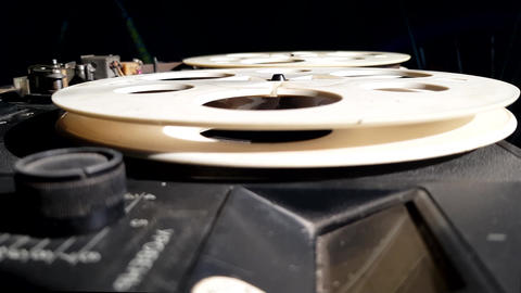 Reel-To-Reel Tape Recorder Live Action