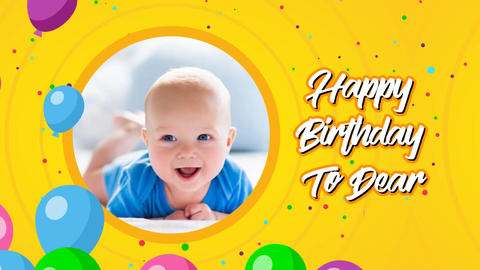 Happy Birthday After Effects Template