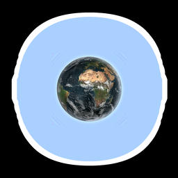 Earth Loop Shade Animation