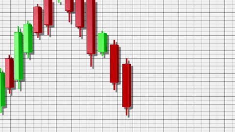 4K Bullish Rectangle Stock Chart Pattern 7 Animation