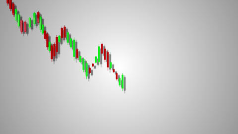 4K Downtrend Stock Chart 1 Archivo
