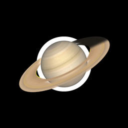 Saturn Loop Shade Animation