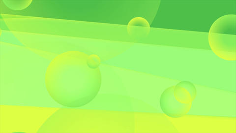 Vibrant green and yellow minimal abstract video animation Animation