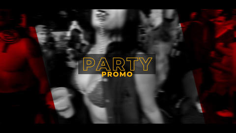Party Promo Premiere Pro Template