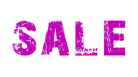 SALE animated text with moving hand and finger 6 Stock Video Footage