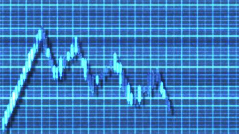 4K Ascending Channel Bullish Sci-Fi Stock Chart Pattern 1 Animation