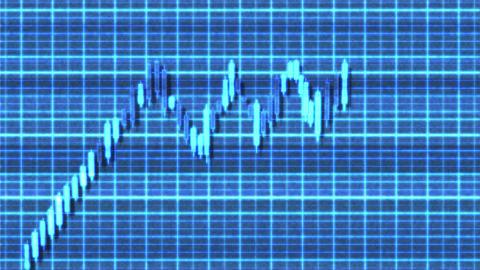 4K Ascending Tringle Bullish Sci-Fi Stock Chart Pattern 2 Animation