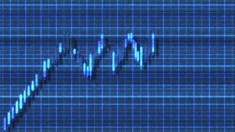 4K Ascending Triangle Bullish Sci-Fi Stock Chart Pattern 1 Animation