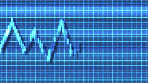 4K Sideways Consolidation Sci-Fi Stock Chart 1 Archivo