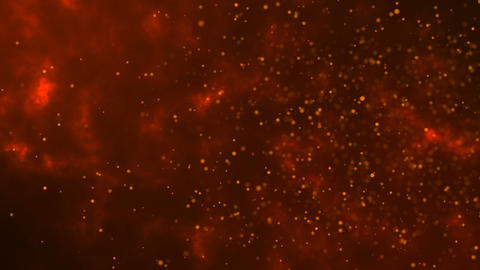 Beautiful Floating Dust Particles Background Animation