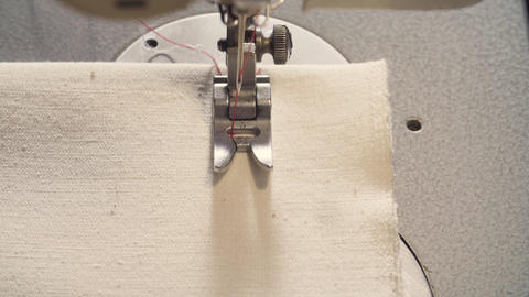 Working sewing machine Live Action
