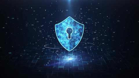 Technology security concept36 Animation