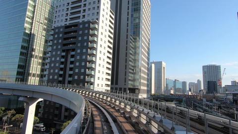 Japan city scenery. Traffic image of city traffic ライブ動画