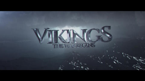 Vikings Title After Effects Template