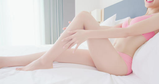 Sexy woman body and leg Live影片