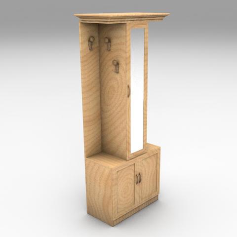 Cabinet 02 Modelo 3D