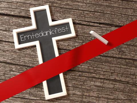 Erntedankfest Kirche Feiertag Feiertage Christentum Kreuz Photo