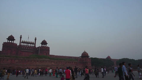 Red Fort, New Delhi, India Footage
