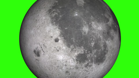 Natural satellite of the World: Moon, Luna, Lunar.…, Stock Animation