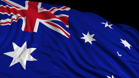 Australian Flag Videos animados