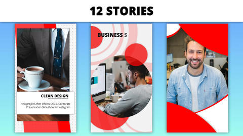 Corporate Instagram Stories After Effects Template