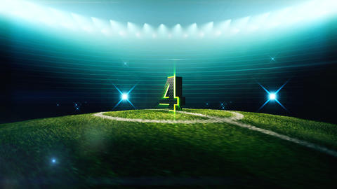 Soccer Countdown-4 Animation