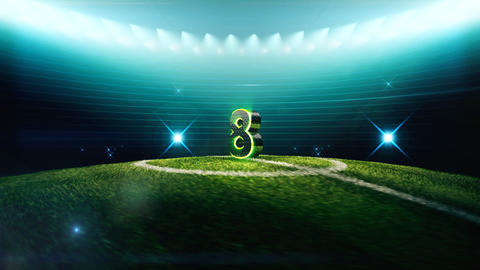 Soccer Countdown-8 Animation