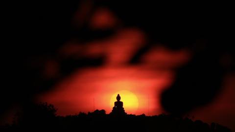 Big Buddha,Phuket Thailand Footage
