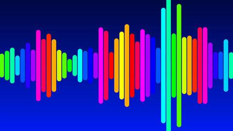Audio Equalizer seamless animation Animation