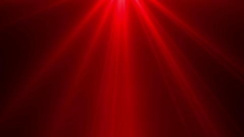 Red light rays on black background. Flare, sunlight, shiny lens light Animation