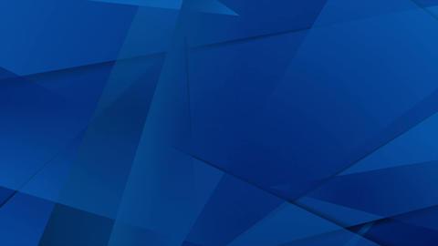 Abstract dark blue technical polygonal motion design Animation