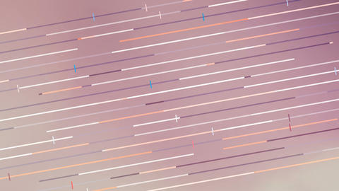 Abstract colorful diagonal moving lines background. 4k Resolution Animation