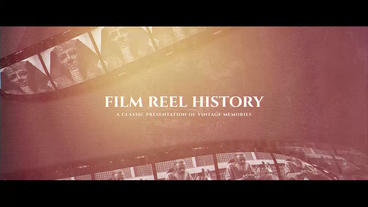 Film Reel History After Effects Template