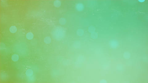 Abstract bokeh particles on green background. Abstract…, Stock Animation