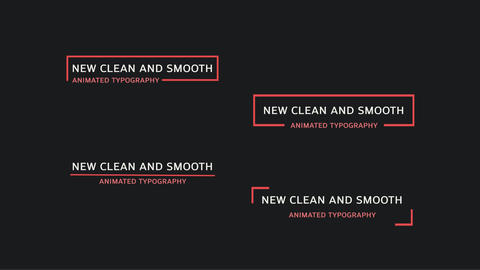 Dynamic Typography - Essential Graphics MOGRT Motion Graphics Template