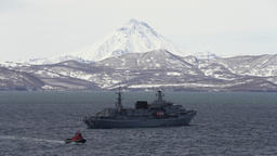 Rescue Vessel Alagez of Pacific Fleet of Russian Federation Footage