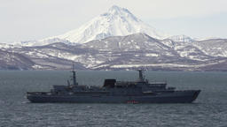 Rescue Vessel Alagez of Pacific Fleet of Russian Federation Live Action
