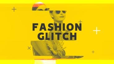 Fashion Glitch Premiere Pro Template