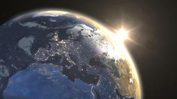 Sunrise over Eastern Hemisphere Archivo