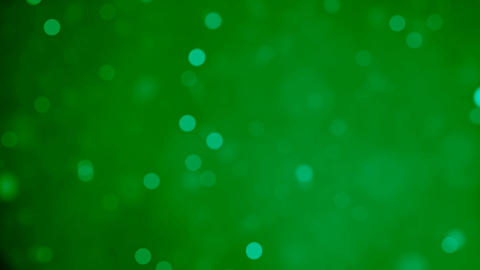 Glittering soft green bokeh background animation. 4k Resolution Animation