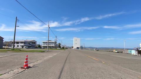 Asphalt road in a sunny day ビデオ
