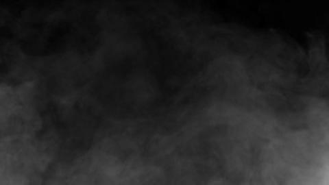 Effect of white smoke from smoke machine HD Footage