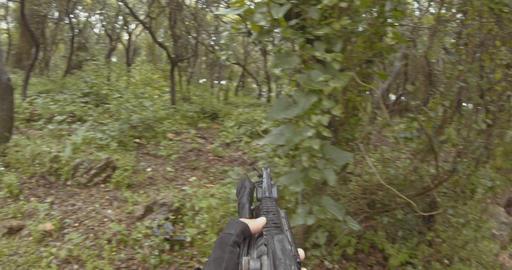 [alt video] Weapon GoPro POV footage of a squad of Israeli commando...