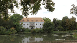 Building of the Old Castle in Muskau Park Archivo